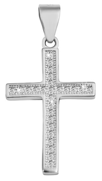 Giulia Luna-Halskette Anhänger Kreuz Glaube Schutz 925er Silber GL5210090