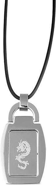 Akzent KautschukAkzent Kautschuk-Halskette aus Kautschuk, Schwarz, Länge 55 cm / Stärke 2 mm inkl. A