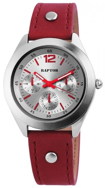 Raptor Analog Damenuhr, Leder, Ø 38 mm - 1978XX0027