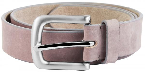 LEONARDO VERRELLI Damen - Gürtel aus Leder Rosa 85-125cm Dornschließe 3100057