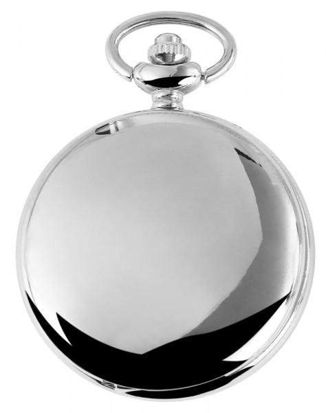 Excellanc Herren-Taschenuhr Metall Druckknopfverschluss 4000007