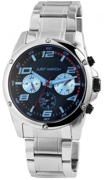 Just Watch Tyler Herren-Uhr Multifunktion Edelstahl Leuchtzeiger Anlog Quarz JW20134