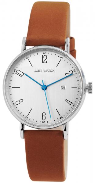 Just Watch Harper Damen-Uhr Echt Leder Datum Analog Quarz JW10107