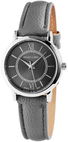 Excellanc Damen – Uhr Lederimitat Armbanduhr Analog Quarz 1900132
