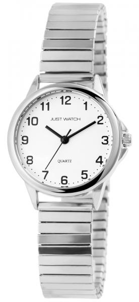 Just Watch Damen-Uhr Zugband Edelstahl Klassisch Elegant Analog Quarz JW10170