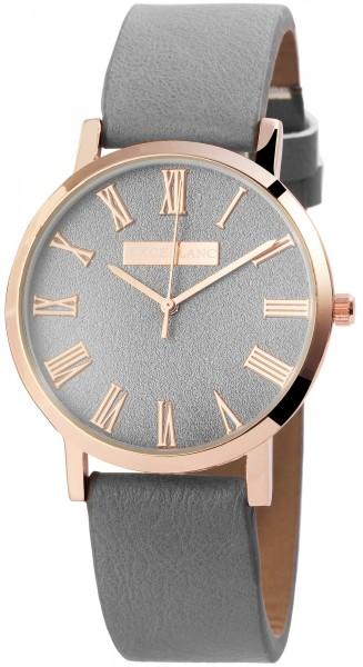 Excellanc Damen – Uhr Lederimitat Armbanduhr Dornschließe Analog Quarz 2910009