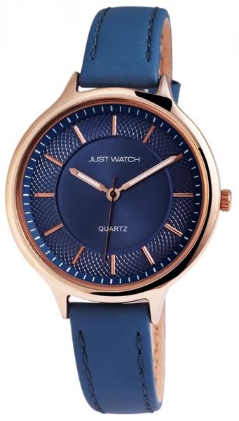 Just Watch Damen-Uhr Echt Leder Rund Dornschließe JW047 Analog Quarz JW10043