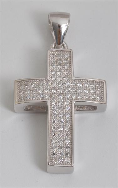 Giulia Luna Damen-Halskette Anhänger Kreuz Glaube Hoffnung 925er Silber GL5210049