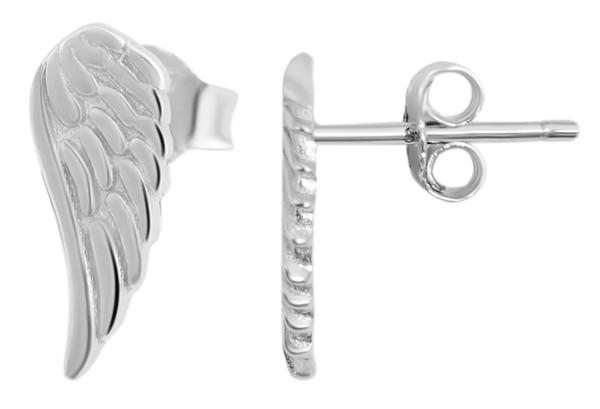 Giulia Luna-Ohrstecker 925er Sterling Silber Flügel Engel Ohrringe GL5200109