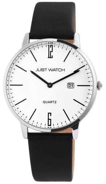 Just Watch Herren-Uhr Echt Leder Dornschließe Datum JW279 Analog Quarz JW20130