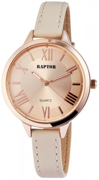 Raptor Damen - Uhr schmale elegante Damenuhr Analog Quarz RA10012