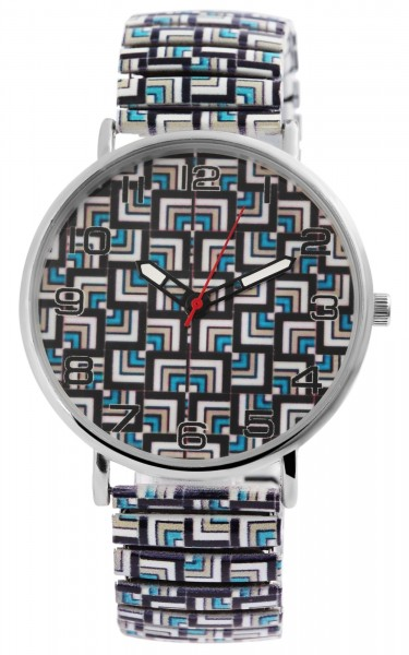 Donna Kelly Damen – Uhr Zugarmband Metall Comfort Line Analog Quarz 1700048