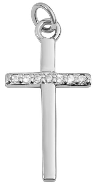 Giulia Luna Damen-Halskette Anhänger Kreuz Glaube Hoffnung 925er Silber GL5210069