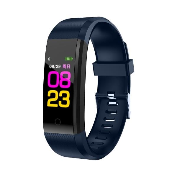 TimeTech Fitness-Tracker Unisex Schrittzähler Silikon Uhr Digital 2440001