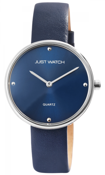 Just Watch Damen-Uhr Echt Lederarmband Dornschließe JW265 Analog Quarz JW10130