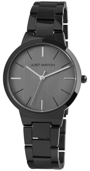 Just Watch Matilda Damen-Uhr Edelstahl Faltschließe elegant Analog Quarz JW10127