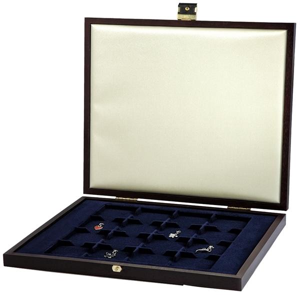 Fancery Münzen-Kassette Holzoptik 16 oder 12 Münzen verschiedene Münzen 6300031