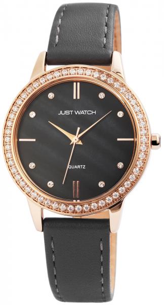Just Watch Damen-Uhr Echt Leder Strass JW192 Analog Quarz JW10035