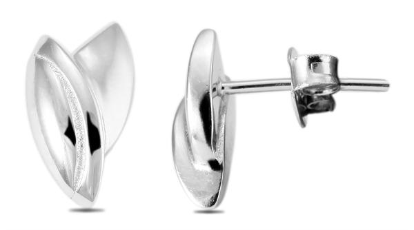 Giulia Luna Damen –Ohrstecker 925er Sterling Silber rhodiniert Ohrring GL5200026