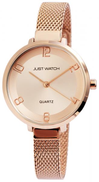 Just Watch Damen-Uhr JW142 Milanaiseband Hakenverschluß Analog Quarz JW10081
