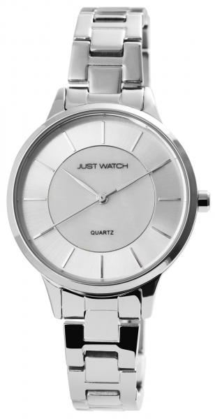 Just Watch Damen-Uhr Edelstahl Faltschließe JW270 Analog Quarz JW10133