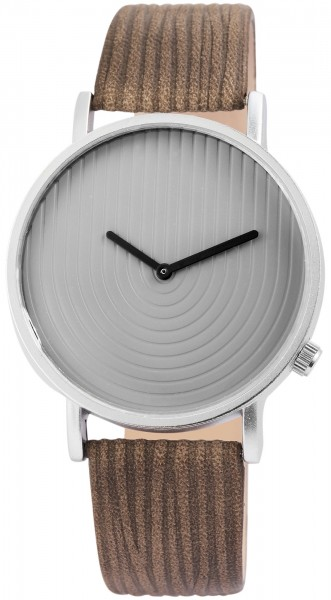 Excellanc Damen-Uhr Lederimitat Dornschließe Analog Quarz 1900142