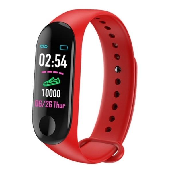 TimeTech Fitness-Tracker Unisex Schrittzähler Silikon Uhr Digital 2440002