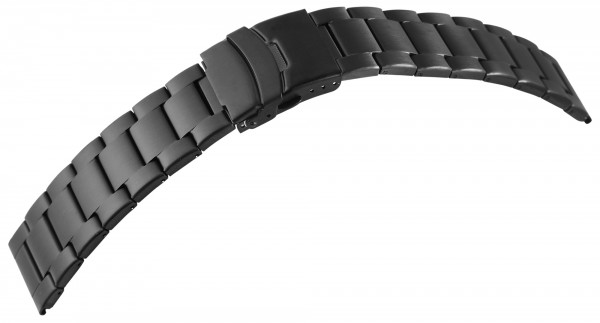 7daysin-Ersatzarmband Gliederarmband Edelstahl Faltschließe Stegbreite 8100092